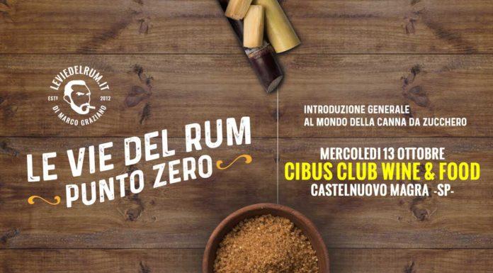 Le Vie Del Rum Punto Zero CIBUS FB